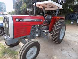 brand new mf 375,75hp,with free 3 disc plough.