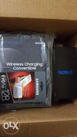 New Samsung Note 8, 64gb with wireless charging pad and 128gb memory Lekki - image 1