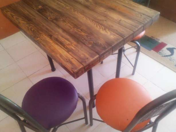 4 Seater Table Fedha - image 2