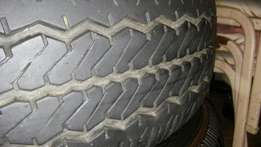215/70R16 and 265/65R17 tyres for sale