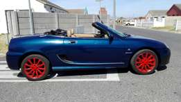 MG TF160i Convertible, Nice Sports Car in Good Condition and Neat Inte