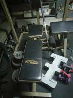 Home gym and bench Trojan