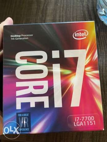 Intel Core i7 7700 *FAN ONLY* Brand New NEGOTIABLE