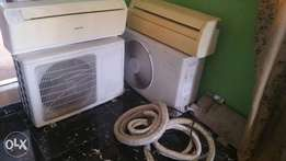 Super clean Air conditioner 100% workng wit complete kits & remote