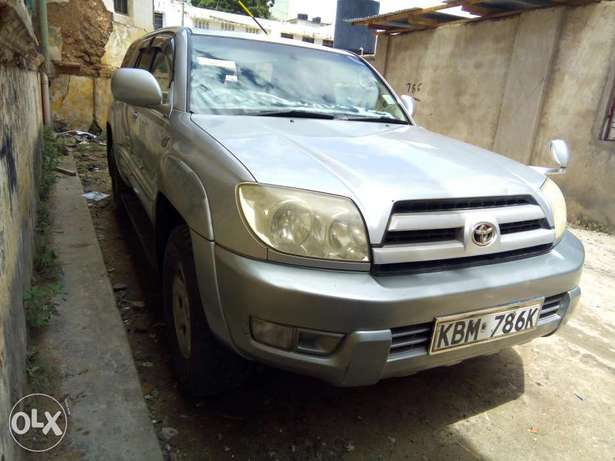 Clean and Well Maintained Toyota Hilux Surf 4WD SUV Mombasa Island - image 1
