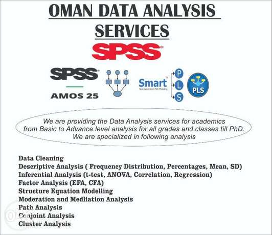 Data Analysis Services Available