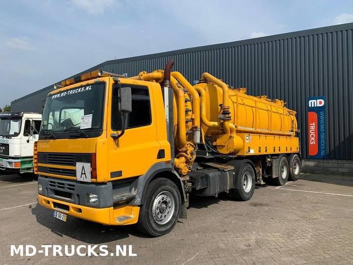 DAF CF 85 380 manual vacuum truck - 2000