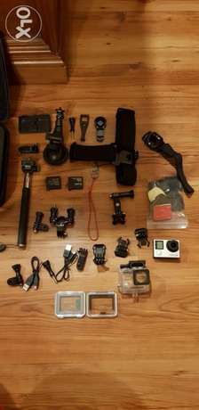 Gopro Full accessories ( only accessories)