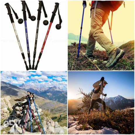 Hiking / walking sticks 3 colors delivery all LEB