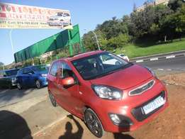 2013 kia picanto with sun/roof 35000km for sale in johannesburg
