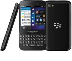 Blackberry Q5 Smartphone Plus Free Charger- Black (Used)
