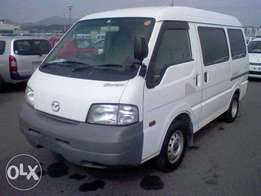 Mazda Bongo for sale from Japan yard then clear at the port of mombasa