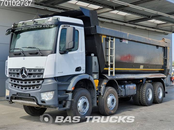 Mercedes-Benz Arocs 4145 S 8X4 Big-Axle Steelsuspension 27m3 Hydraulik ... - 2018