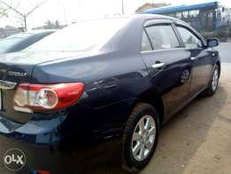 Clean Toyota Corolla 2012 Available