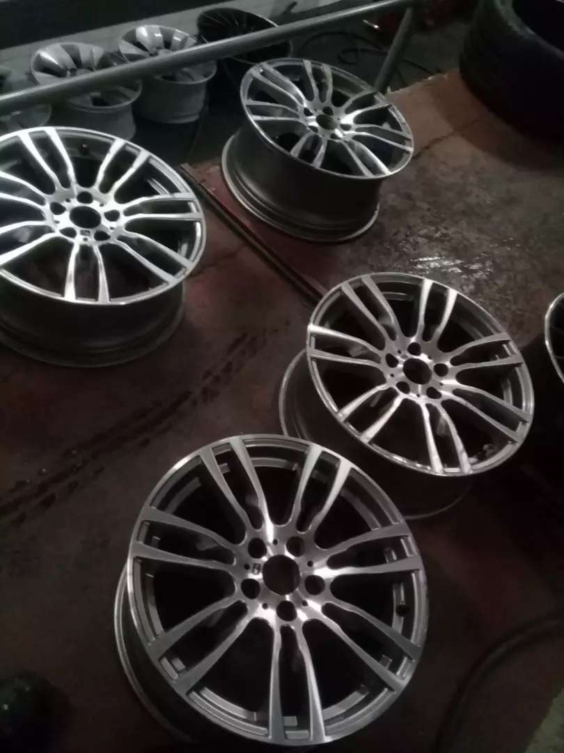 A Set Of 19 Inch Rims For Bmw F30 Available For Sale Car Parts