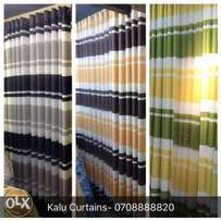 Green & yellow Curtains
