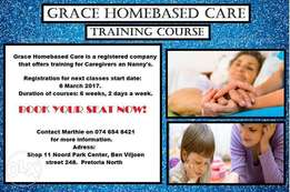 Home based care and Nanny training