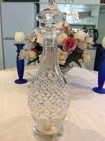 Vintage Waterford Hand Cut Crystal Decanter