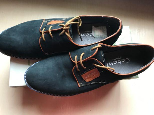 4479cb0a3 Туфли мужские для подростка новые: 500 грн. - Мужская обувь Киев на Olx
