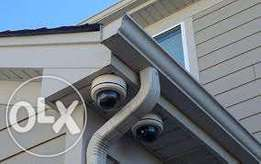 Installation of CCTV surveillance systems, digital and analog varietie