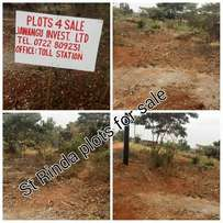 St Rinda's plots for sale,40x60