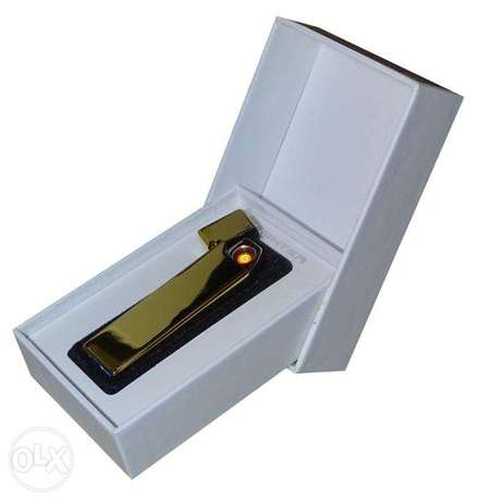 Brand New Gold Electric Rechargeable Lighter