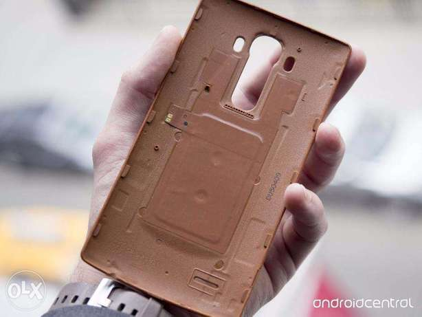 LG G4 Leather Back Cover - Brown Kasarani - image 7