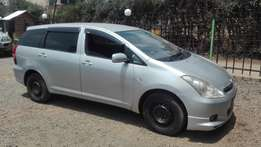 toyota wish 2003 super clean buy and drive 7seater