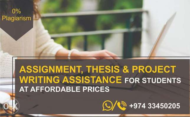 Assignment, thesis writing Services
