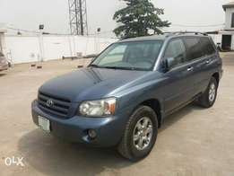 Rrgistered Toyota Highlander 4WD (3Rd Roll Seat & DVD) - 2006