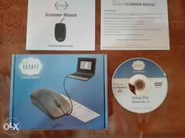Halo scanner mouse