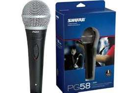 Shure PG58 Cardioid dynamic microphone