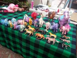 Collection of ponies.