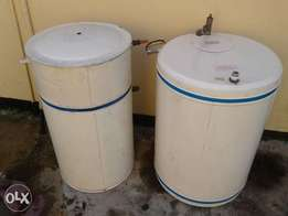 2x geyser. good condition