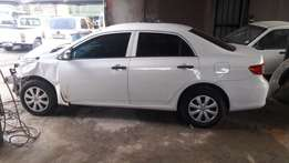 Stripping Toyota Corolla For Spare Parts