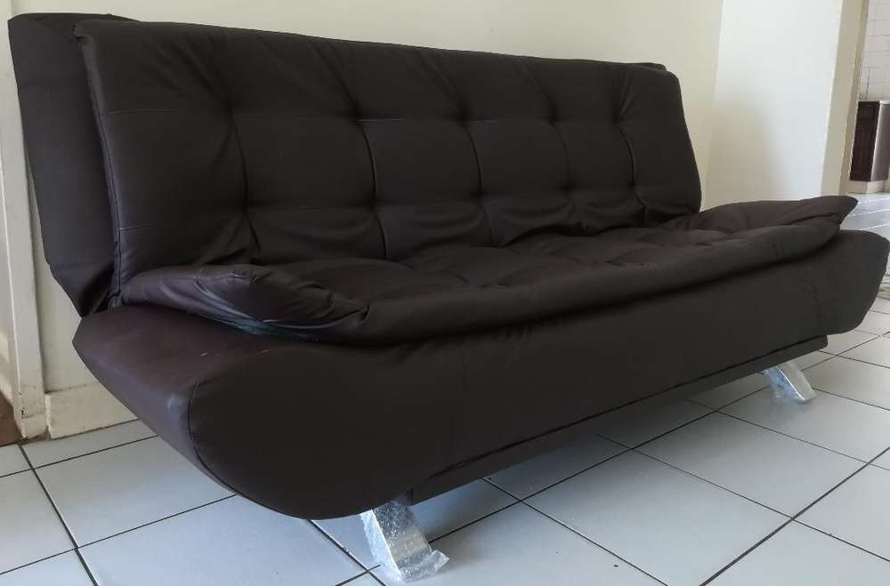 New Brown Sleeper Sofa Couch