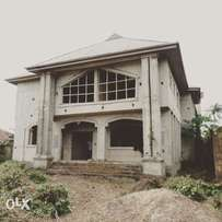 Uncompleted hotel up for sale.