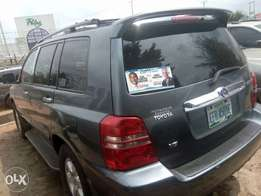 neatly used Toyota Highlander