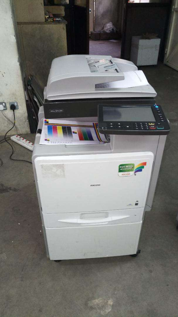 Boosted Ricoh C300 photocopier machine coloured 0