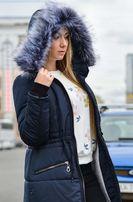 Распродажа Женская парка куртка на меху зимняя (теплая)-25 дропшиппинг