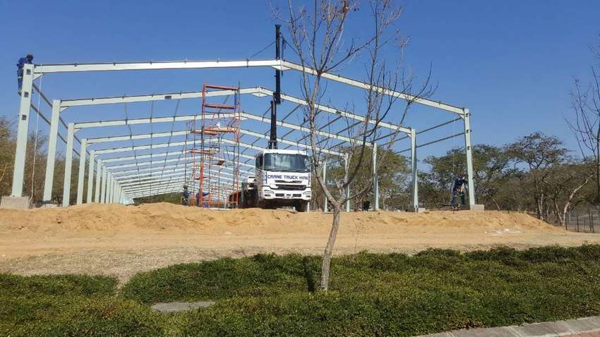 New steel structure for sale. 0