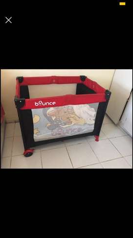 bounce camp cot