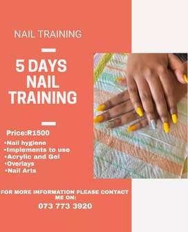 Gel and Acrylic Training with a mini kid
