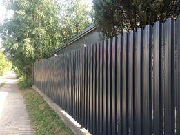 Sztachetki sztachety metalowe ogrodzenia dwustronnie malowane
