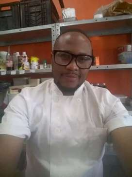South African male chef
