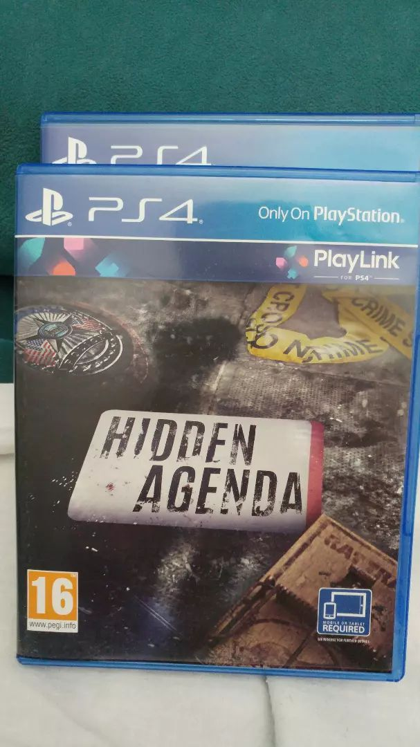 Hidden Agenda PS4 0