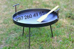 500 мм сковорода из диска, мангал, пательня, садж, жаровня