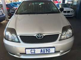2004 Toyota RunX 1.6 Manual