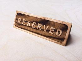 Таблички настольные для ресторанов, пабов, кафе.