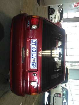 TOYOTA TAZZ 1.6 2004 MODEL RED IN COLOR 100000KMS